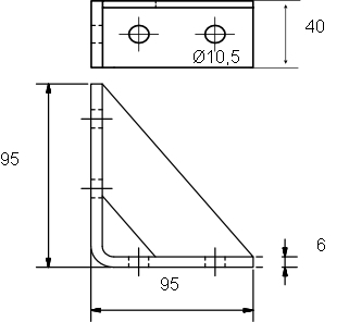 Úhelník L4 FIX